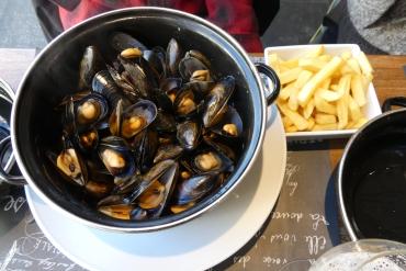 Cassolette de moules marinières