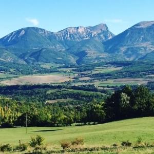 la campagne autour de Dieulefit en Drôme